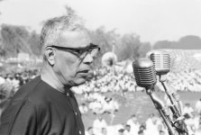 Madhukar Dattatraya Deoras clicked during RSS Rally