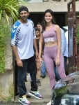 Kartik Aaryan and Ananya Pandey at the dance academy