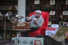 Piyush Mishra speaks at Sahitya Aajtak 2018 event in New Delhi