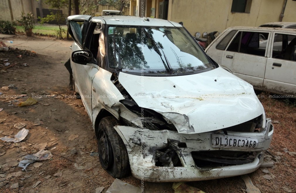 Buy Swift Drzire accident Pictures, Images, Photos By