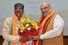 Amit Shah during meeting of state incharges of  BJP Membership Drive