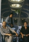 Amitabh Bachchan with Manmohan Desai