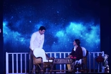Shekhar Suman and Deepti Naval perform a stage play    Ek Mulaqat    at Sahitya AajTak 2018