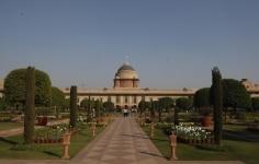 Mughal Garden at Rashtrapati Bhavan