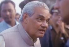 Atal Bihari Vajpayee at an event