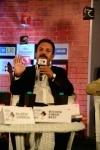 Former cricketer Madan Lal speaking at Sahitya Aaj Tak 2018
