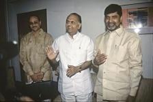 N. Chandrababu Naidu and K.C. Pant