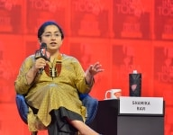 Shamika Ravi at the India Today Conclave 2019