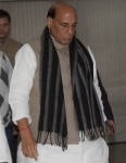 Union Home Minister  Rajnath Singh during a meeting
