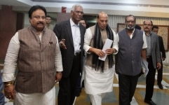 All Party meeting on the Pulwama terror attack