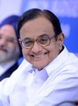 P Chidambaram addresses media
