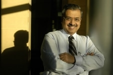 Dilip Shanghvi clicked at his office
