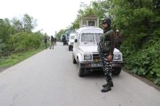 Two Militants killed in encounter at Shopian