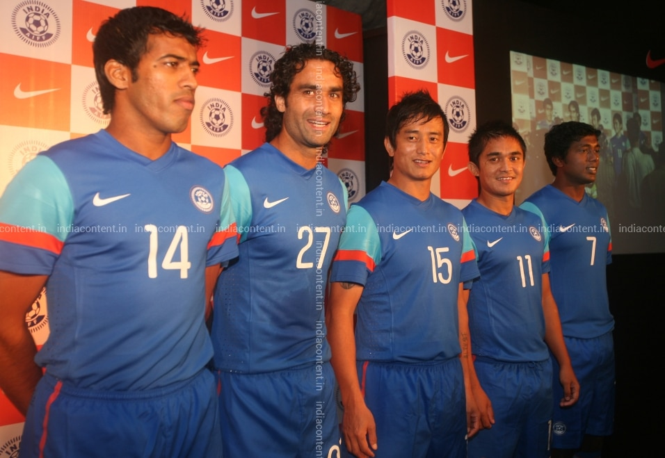 promo code 96c6a c684a Buy Indian National Football Teams New Kit Pictures, Images ...