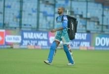 Shikhar Dhawan at IPL Practice Session