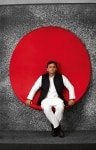 President of SP  Akhilesh Yadav poses for photographs at The India Today Conclave