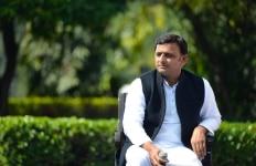 Akhilesh Yadav clicked in New Delhi