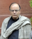 Arun Jaitley at Cabinet Meeting