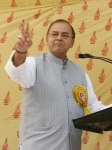 Arun Jaitley at a Rally
