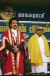 M Karunanidhi with MK Stalin