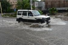 Rainfall in New Delhi