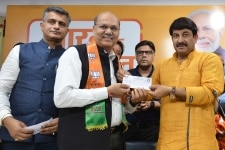 Singh Gurjar and Mohd Iqbal join BJP
