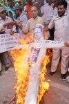 Protest Against Lalit Modi