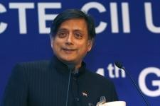 Shashi Tharoor at AICTE CII University Industry Congress 2012   4th Global Higher Education Summit