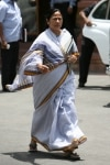 Mamata Banerjee at a Cabinet Meeting