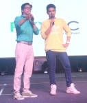Mumbai  Singers Shaan and Armaan Malik during a programme organised by Bhamla Foundation on the occasion of World Environment Day in Mumbai on June 5  2018  Photo  IANS