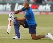Practice session of 2nd International T20 match