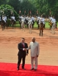 Mongolian President Khaltmaagiin Battulgau visits India