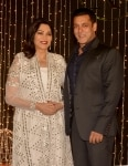 Simi Garewal and Salman Khan at Priyanka Chopra and Nick Jonas   s Reception