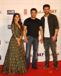 Salman Khan introduces Zaheer Iqbal and Pranutan Bahl