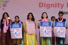 Richa Chadda and Chitrangada Singh at Dignity March New Delhi