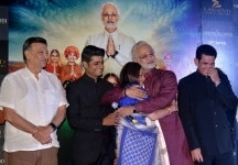 Vivek Oberoi during trailer launch of 'PM Narendra Modi'