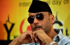Jackie Shroff at International Yoga Day