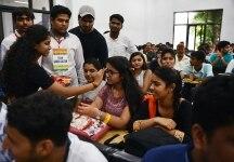 First Day at Delhi University