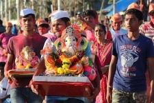 Ganpati Immersion in Mumbai