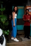 Mumbai  Actress Rakul Preet Singh seen at Mumbais Versova on Aug 7  2018  Photo  IANS