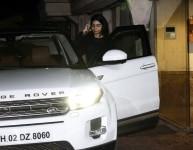 Mumbai  Actress Janhvi Kapoors sister Khushi Kapoor seen at Arjun Kapoors house on Aug 11  2018  Photo  Amlan Paliwal IANS
