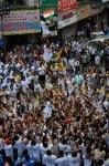 Mumbai  Govindas participate in the Dahi Handi event during Janmashtami celebrations  in Mumbai on Sept 3  2018  Photo  IANS