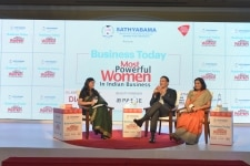 Apurva Purohit and Sanjay Purohit at the Business Today Most Powerful Women in Indian Business Awards