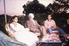 KPS GILL WITH SRIDEVI AND SALMAN KHAN