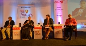 Debate Session at India Today Tourism Survey and Awards 2019