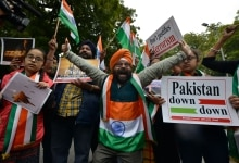 Celebration after IAF's Air Strikes in Pakistan