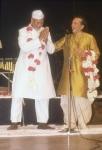 BISMILLAH KHAN WITH PANDIT RAVI SHANKAR
