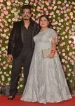 Bharti Singh and Haarsh Limbachiyaa at Kapil Sharma's Reception