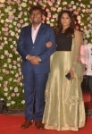 Johnny Lever at Kapil Sharma's Reception