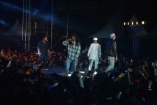 Mc Altaf and MC Tod Fod at Gully Boy music launch event